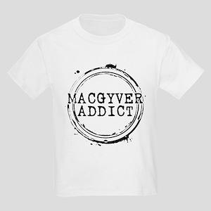 MacGyver Addict Stamp Kids Light T-Shirt