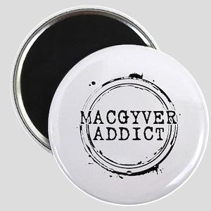 MacGyver Addict Stamp Magnet