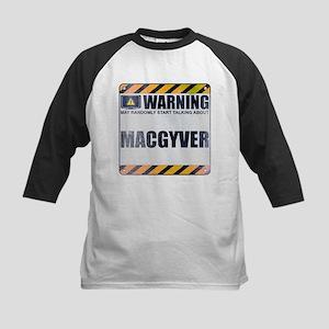 Warning: MacGyver Kids Baseball Jersey