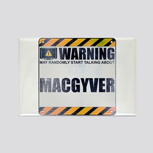 Warning: MacGyver Rectangle Magnet