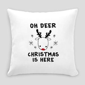 Oh Deer Everyday Pillow