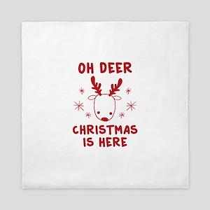 Oh Deer Queen Duvet