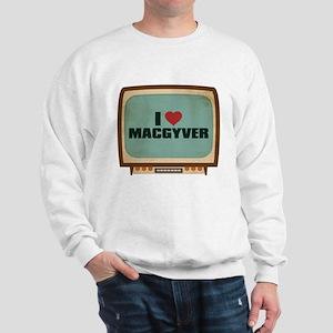 Retro I Heart MacGyver Sweatshirt