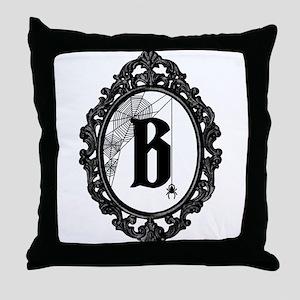 MONOGRAM Gothic Frame Spider Throw Pillow