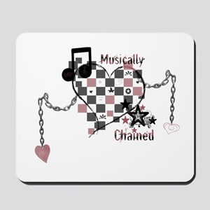 Musically Chained Mousepad