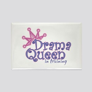 Drama Queen I.T. Rectangle Magnet