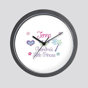 Jenna - Grandma's Little Prin Wall Clock