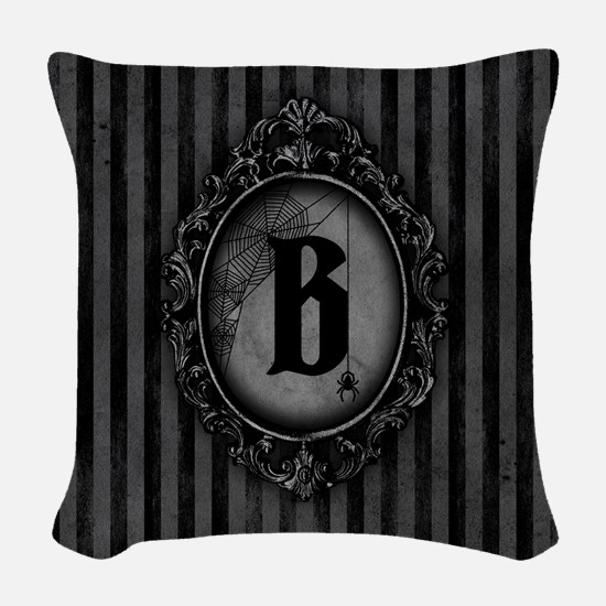 MONOGRAM Gothic Frame Spider Woven Throw Pillow