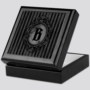 MONOGRAM Gothic Frame Spider Keepsake Box