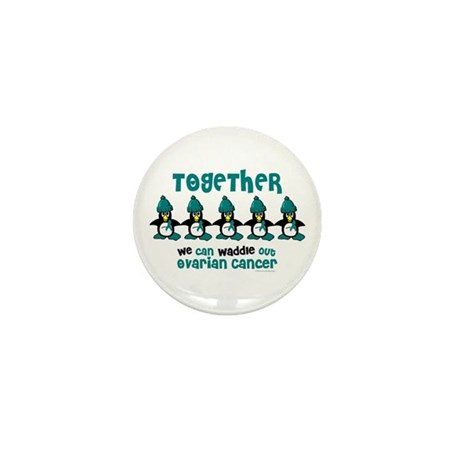 Winter Penguin 4 (OC) Mini Button (10 pack)