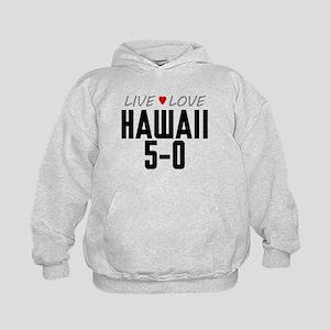 Live Love Hawaii 5-0 Kid's Hoodie