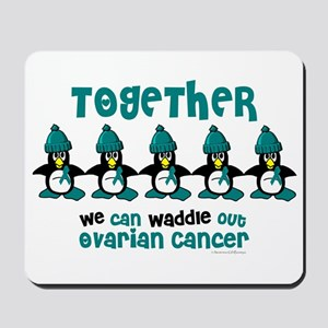 Winter Penguin 4 (OC) Mousepad