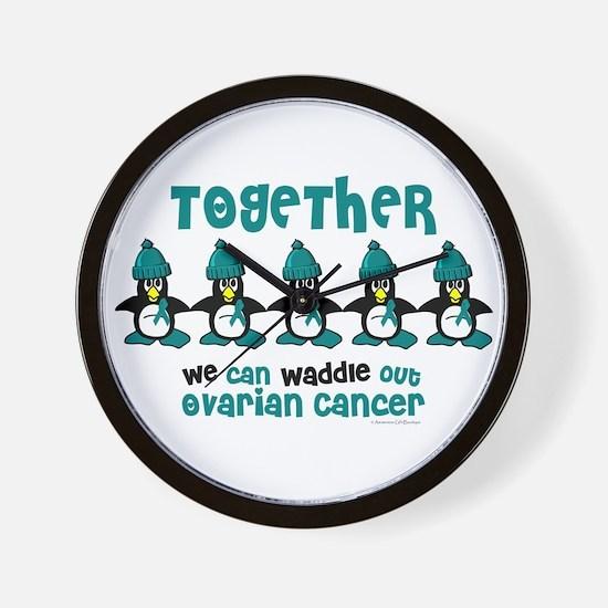 Winter Penguin 4 (OC) Wall Clock
