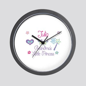 Julia - Grandma's Little Prin Wall Clock