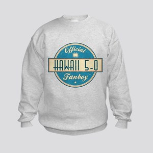 Official Hawaii 5-0 Fanboy Kids Sweatshirt