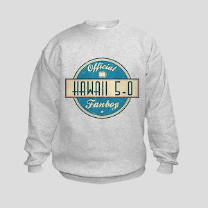 Official Hawaii 5-0 Fanboy Kids Sweatshirt