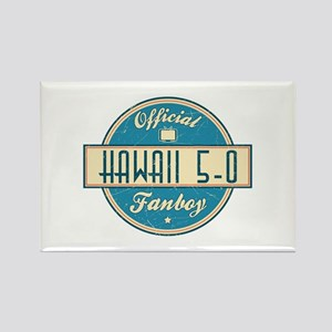 Official Hawaii 5-0 Fanboy Rectangle Magnet