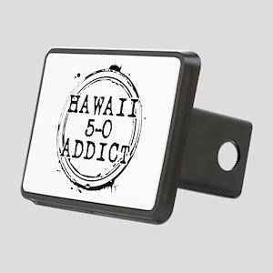 Hawaii 5-0 Addict Stamp Rectangular Hitch Cover