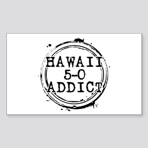 Hawaii 5-0 Addict Stamp Rectangle Sticker