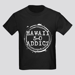 Hawaii 5-0 Addict Stamp Kids Dark T-Shirt