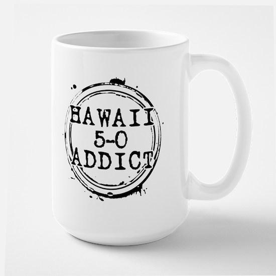 Hawaii 5-0 Addict Stamp Large Mug