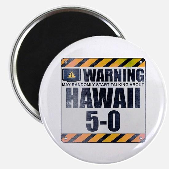 Warning: Hawaii 5-0 Magnet