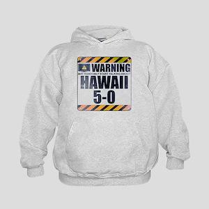 Warning: Hawaii 5-0 Kid's Hoodie