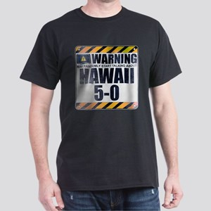 Warning: Hawaii 5-0 Dark T-Shirt