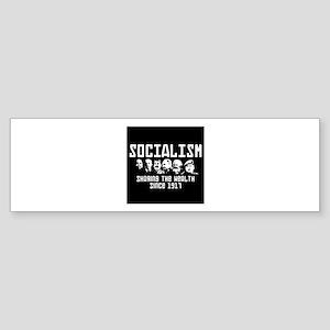 Socialism: Marx, Stalin, Lenin, Cas Bumper Sticker