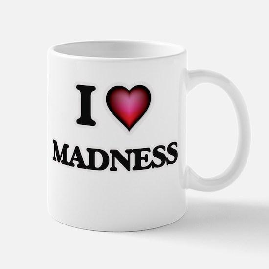 I Love Madness Mugs
