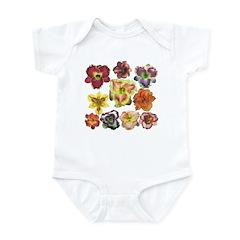 Ten Daylilies Infant Bodysuit