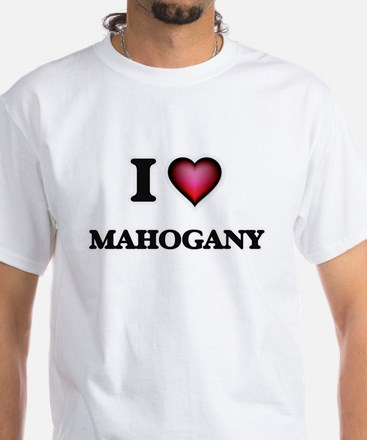I Love Mahogany T-Shirt