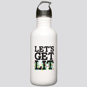 Lets Get Lit Stainless Water Bottle 1.0L