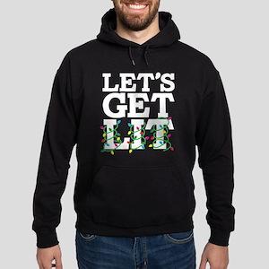 Lets Get Lit Hoodie (dark)