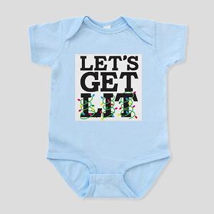 Lets Get Lit Infant Bodysuit