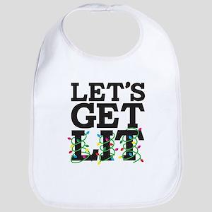 Lets Get Lit Bib