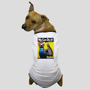 Rosie the Riveter Sloth Dog T-Shirt