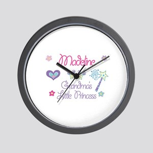 Madeline - Grandma's Little P Wall Clock