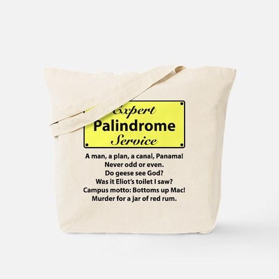 Palindromes Tote Bag