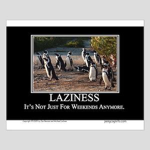 Laziness Small Poster