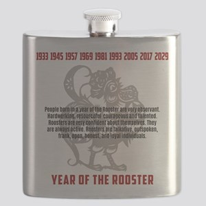 Chinese Zodiac Rooster Traits Flask