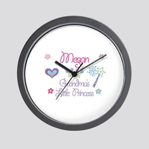 Megan - Grandma's Little Prin Wall Clock