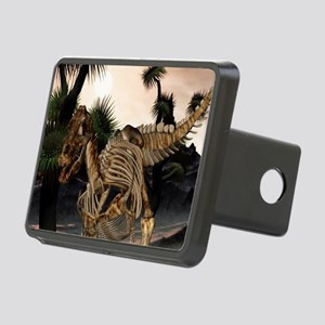 Awesome t-rex skeleton in the sunset Hitch Cover