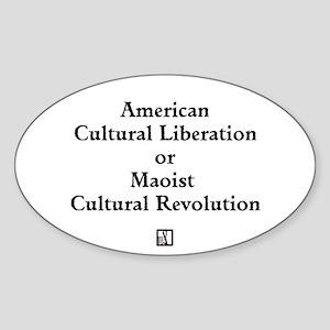 am cult lib Sticker