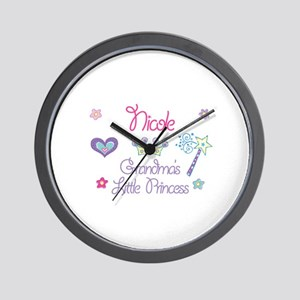 Nicole - Grandma's Little Pri Wall Clock