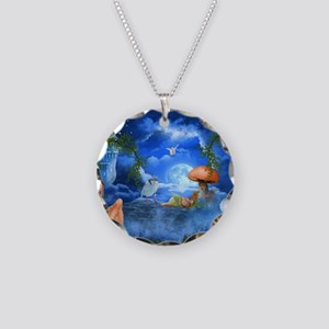 Cute little sleeping in the sky Necklace