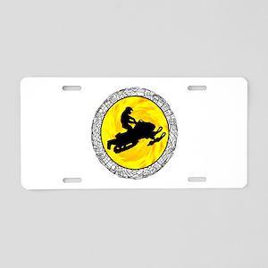 SNOWMOBILE Aluminum License Plate