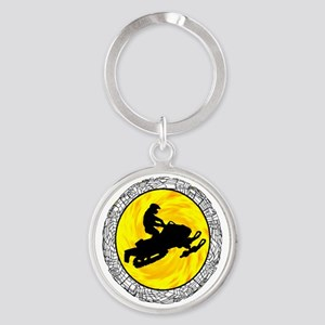 SNOWMOBILE Keychains