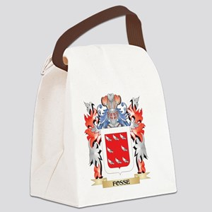 Fosse Coat of Arms - Family Crest Canvas Lunch Bag