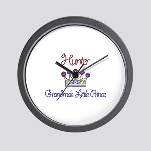 Hunter - Grandma's Little Pri Wall Clock